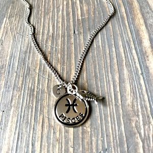 handmade Jewelry - Handmade Zodiac Sign Necklace